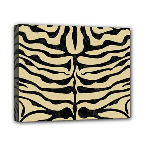 Skin2 Black Marble & Light Sand (r) Canvas 10  X 8  by trendistuff