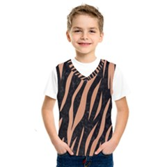 Skin3 Black Marble & Natural Red Birch Wood Kids  Sportswear