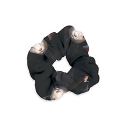 Evil Rabbit Velvet Scrunchie by Valentinaart