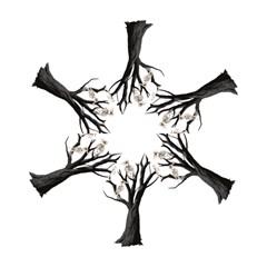 Dead Tree  Mini Folding Umbrellas by Valentinaart