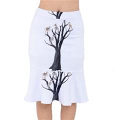 Dead Tree  Mermaid Skirt