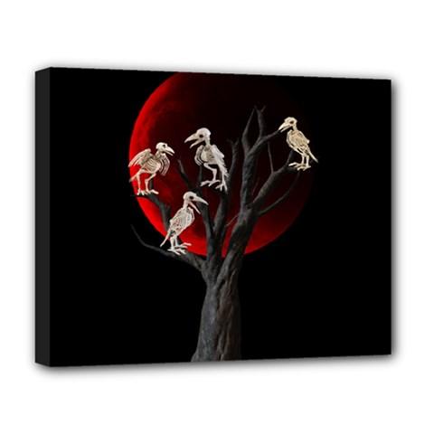 Dead Tree  Deluxe Canvas 20  X 16   by Valentinaart