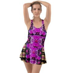 Flowers And Gold In Fauna Decorative Style Swimsuit