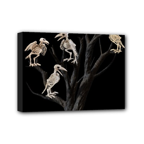 Dead Tree  Mini Canvas 7  X 5  by Valentinaart