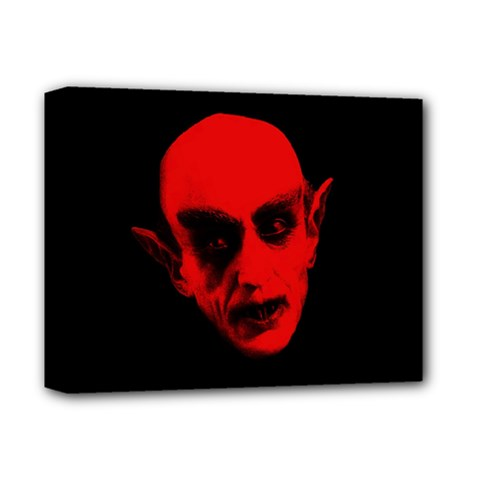 Dracula Deluxe Canvas 14  X 11  by Valentinaart