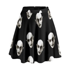 Dracula High Waist Skirt by Valentinaart