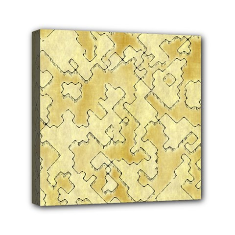 Fantasy Dungeon Maps 1 Mini Canvas 6  X 6  by MoreColorsinLife