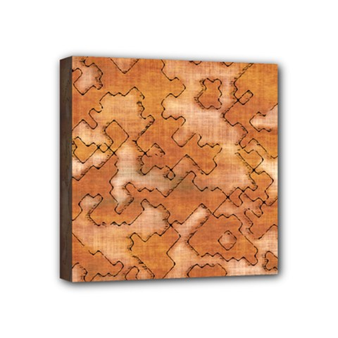 Fantasy Dungeon Maps 2 Mini Canvas 4  X 4  by MoreColorsinLife