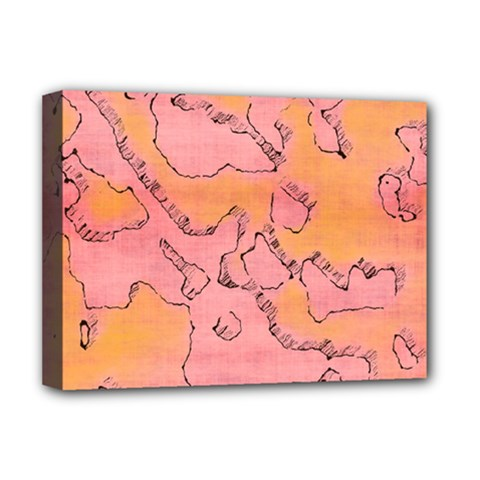 Fantasy Dungeon Maps 6 Deluxe Canvas 16  X 12   by MoreColorsinLife
