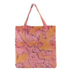 Fantasy Dungeon Maps 6 Grocery Tote Bag by MoreColorsinLife