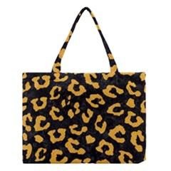 Skin5 Black Marble & Orange Colored Pencil (r) Medium Tote Bag by trendistuff