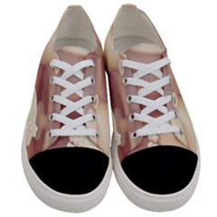 High Tea, Shabby Chic Women s Low Top Canvas Sneakers