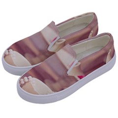 High Tea, Shabby Chic Kids  Canvas Slip Ons by 8fugoso
