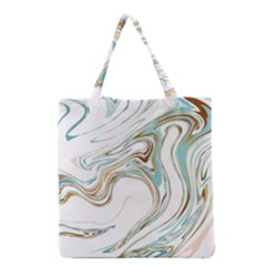 Abstract Marble 1 Grocery Tote Bag by tarastyle