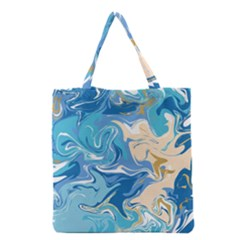 Abstract Marble 2 Grocery Tote Bag by tarastyle