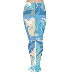 Abstract Marble 2 Women s Tights by tarastyle