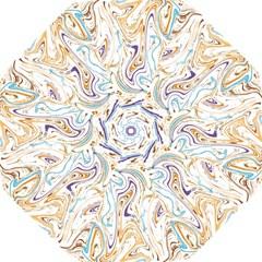 Abstract Marble 3 Hook Handle Umbrellas (medium)