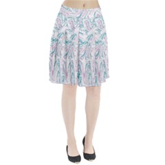Abstract Marble 4 Pleated Skirt
