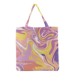Abstract Marble 5 Grocery Tote Bag by tarastyle