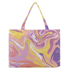Abstract Marble 5 Zipper Medium Tote Bag by tarastyle