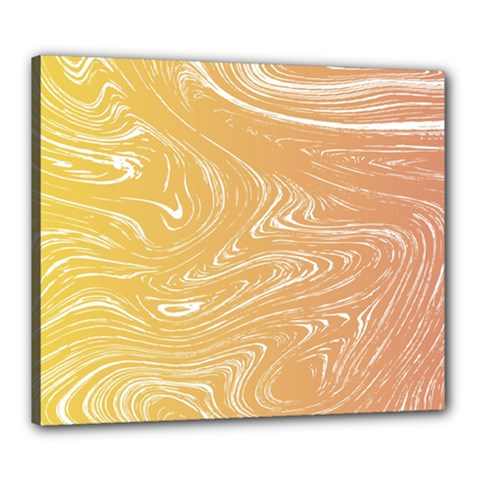 Abstract Marble 6 Canvas 24  X 20  by tarastyle