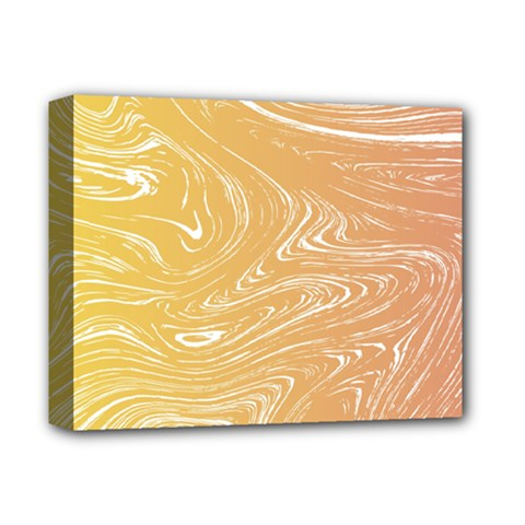 Abstract Marble 6 Deluxe Canvas 14  X 11  by tarastyle