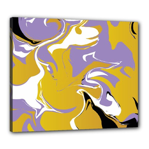 Abstract Marble 7 Canvas 24  X 20  by tarastyle