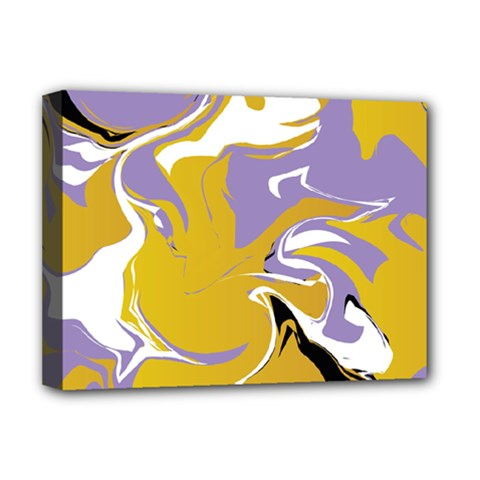 Abstract Marble 7 Deluxe Canvas 16  X 12   by tarastyle
