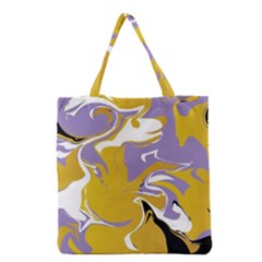 Abstract Marble 7 Grocery Tote Bag by tarastyle