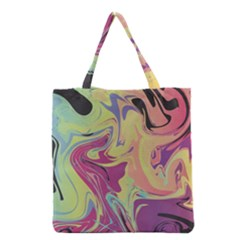 Abstract Marble 8 Grocery Tote Bag by tarastyle