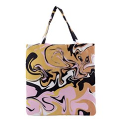 Abstract Marble 9 Grocery Tote Bag by tarastyle