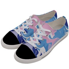 Abstract Marble 10 Women s Low Top Canvas Sneakers by tarastyle