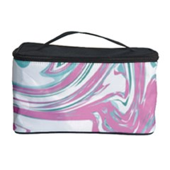 Abstract Marble 12 Cosmetic Storage Case by tarastyle