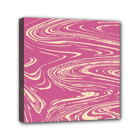 Abstract Marble 14 Mini Canvas 6  X 6  by tarastyle