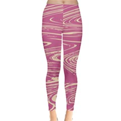 Abstract Marble 14 Leggings  by tarastyle