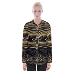 Abstract Marble 15 Womens Long Sleeve Shirt