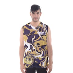 Abstract Marble 17 Men s Basketball Tank Top