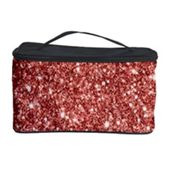 New Sparkling Glitter Print B Cosmetic Storage Case by MoreColorsinLife
