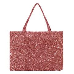 New Sparkling Glitter Print B Medium Tote Bag by MoreColorsinLife