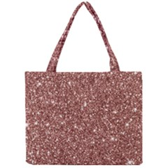 New Sparkling Glitter Print A Mini Tote Bag by MoreColorsinLife
