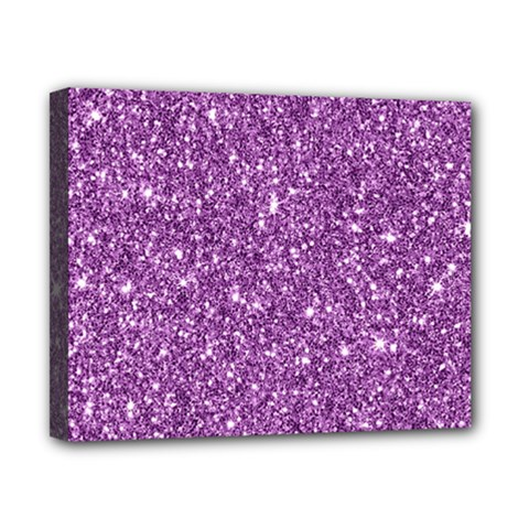 New Sparkling Glitter Print D Canvas 10  X 8  by MoreColorsinLife