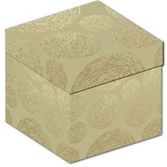 Modern, Gold,polka Dots, Metallic,elegant,chic,hand Painted, Beautiful,contemporary,deocrative,decor Storage Stool 12