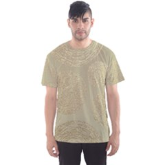 Modern, Gold,polka Dots, Metallic,elegant,chic,hand Painted, Beautiful,contemporary,deocrative,decor Men s Sports Mesh Tee
