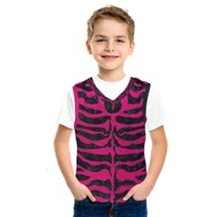 Skin2 Black Marble & Pink Leather (r) Kids  Sportswear by trendistuff