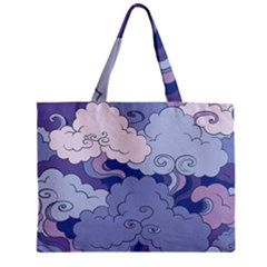 Abstract Nature 3 Zipper Mini Tote Bag by tarastyle