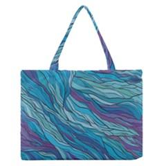 Abstract Nature 6 Zipper Medium Tote Bag by tarastyle