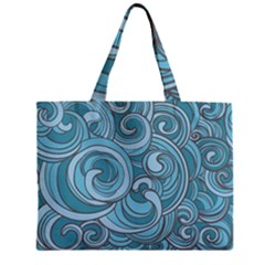Abstract Nature 8 Zipper Mini Tote Bag by tarastyle