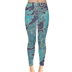 Abstract Nature 10 Leggings  by tarastyle