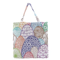 Abstract Nature 12 Grocery Tote Bag by tarastyle