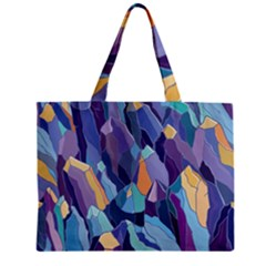 Abstract Nature 15 Zipper Mini Tote Bag by tarastyle